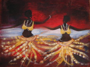 Laraka Raka Courtship Dance [sold]