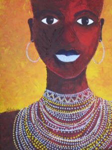 Proudly African [sold]
