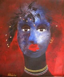 Blue Madonna [sold]