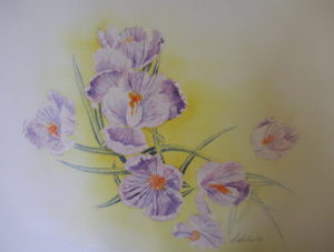 Lavender Cracus II [sold]